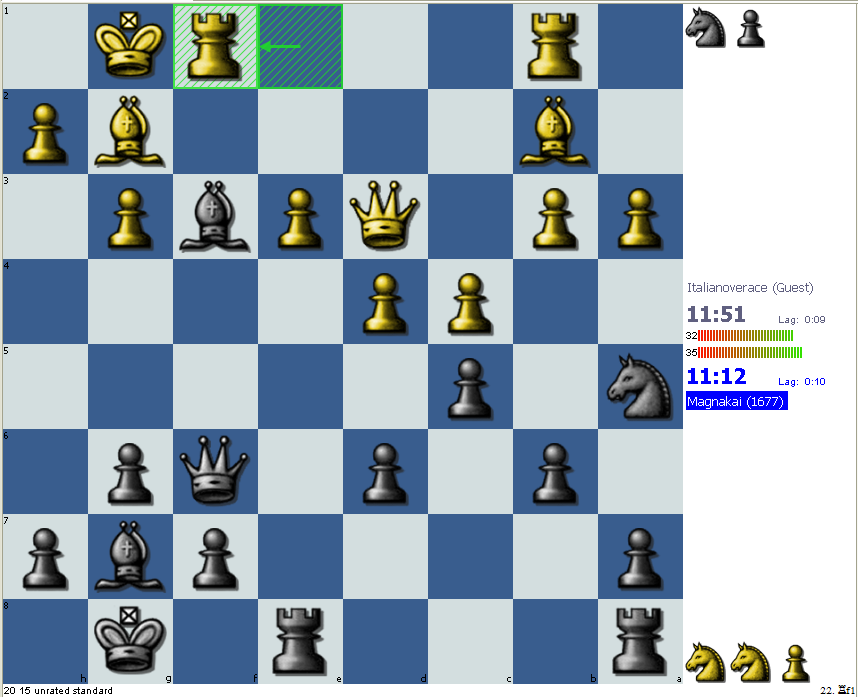 Black to move and retain some of the material advantage