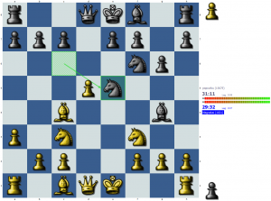 Chess puzzle: Who cares about pins?