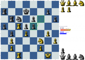 chess puzzle: not a simple trade after all ...