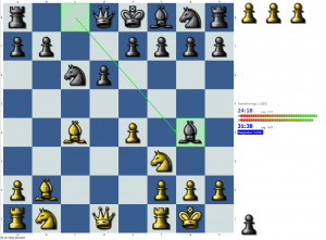 Chess puzzle: Pin vs. tempo