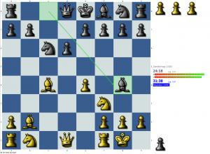 Chess puzzle: Pin vs. tempo