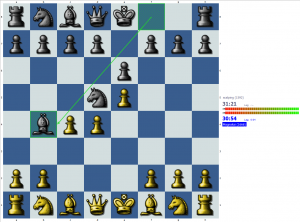 Chess puzzle: Blunder in the opening